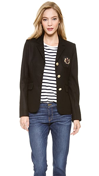 SMYTHE Three Button Schoolboy Blazer