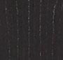 Black Pinstripe/Mahogany Leath