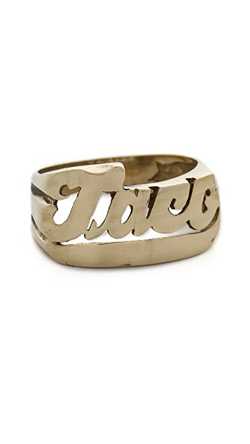 SNASH JEWELRY Taco Ring