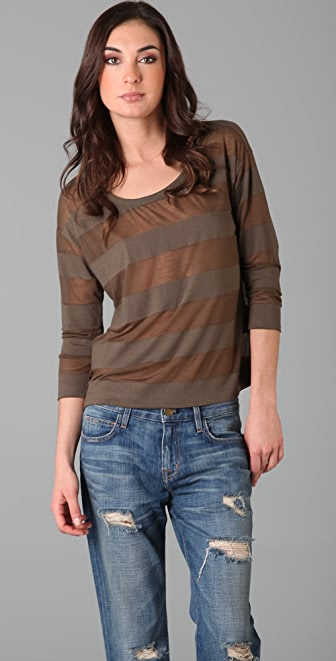 Soft Joie Briggs Stripe Top