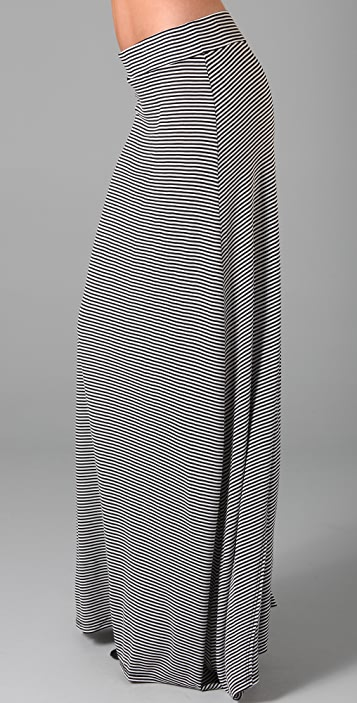 Soft Joie Redmond Mini Stripe Long Skirt