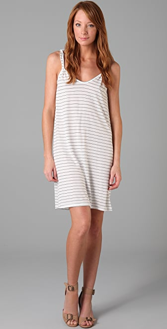 Soft Joie Jonas Mini Stripe Tank Dress