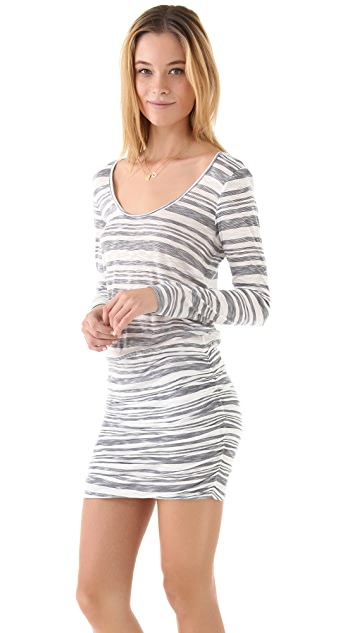 Soft Joie Loganberry Striped Dress