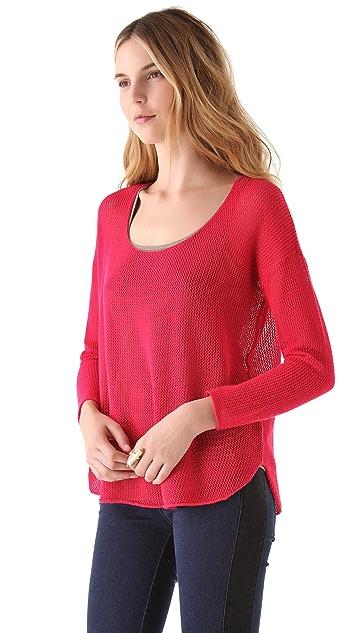 Soft Joie Nia Mesh Sweater