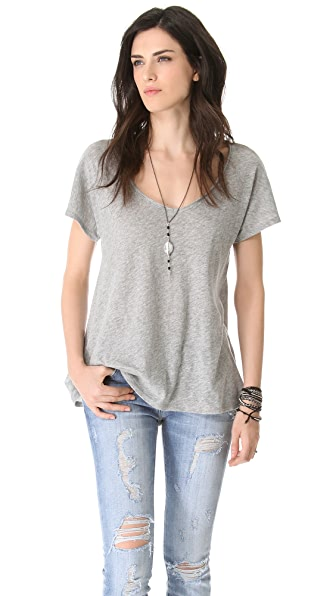 Soft Joie Arwen V Neck Top
