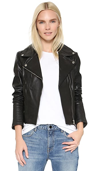 Soia & Kyo Hadley Leather Jacket