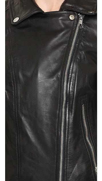 Soia & Kyo Hadley Leather Jacket