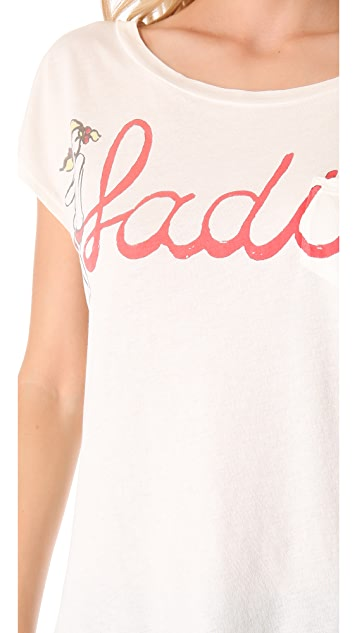 Sol Angeles Ladies Pocket Tee