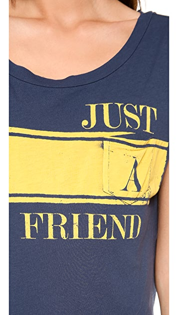 Sol Angeles Just A Friend Pocket Tee