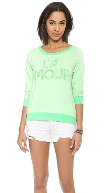 Sol Angeles La Amour Pullover