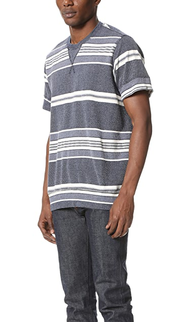 Sol Angeles Turkish Stripe Short Sleeve Crew Tee