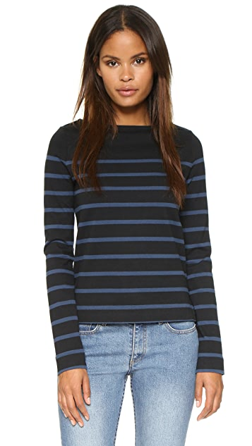 Solid & Striped The Breton Boatneck Tee