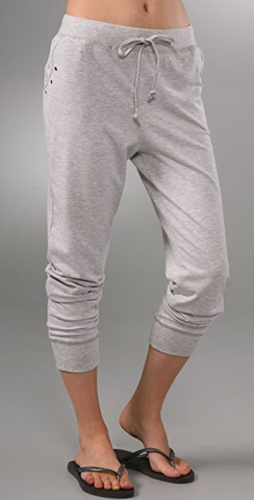 SOLOW Harem Cropped Pants