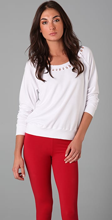 SOLOW Raglan Top