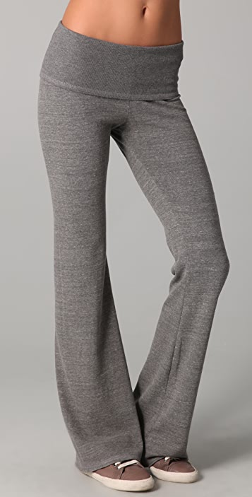 SOLOW Fold Over Pants