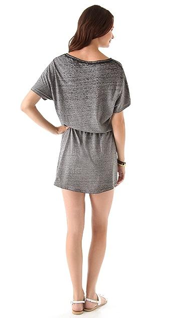 SOLOW So Low Sport Burnout Mini Dress