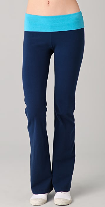 SOLOW So Low Sport Fold Over Pants