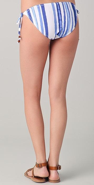 SOLOW Striped String Bikini Bottom