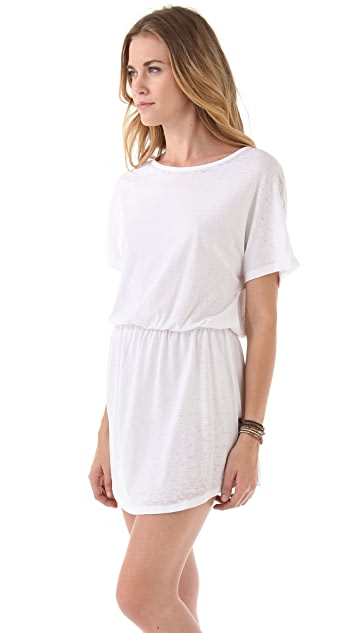 SOLOW Cover Up Shirttail Dress