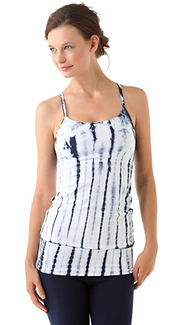 SOLOW Workout Tank with Alligator Tie Dye