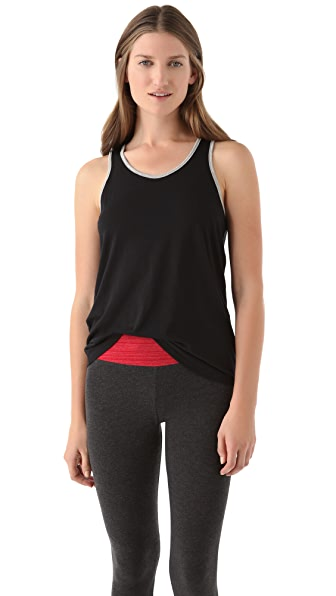 SOLOW Colorblock Tank with Keyhole
