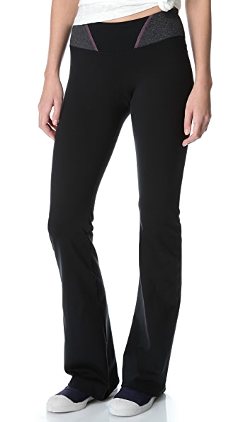 SOLOW Pilates Pants with Contrast