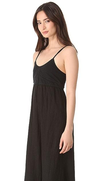 SOLOW Linen Maxi Dress