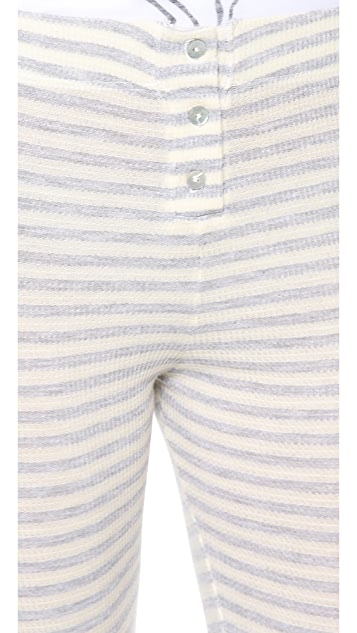 SOLOW Button Up Leggings