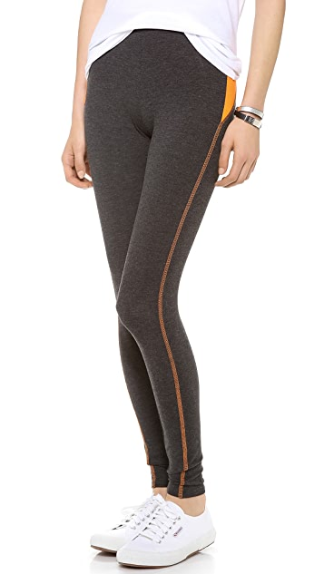 SOLOW Legging with Contrast Piecing