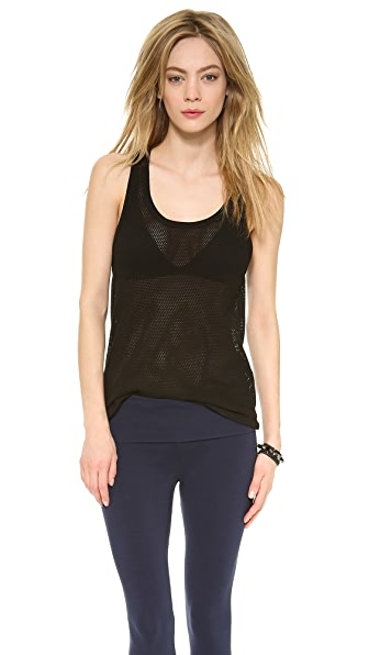 SOLOW Mesh Tank Top