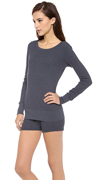 SOLOW Long Sleeve Top