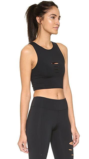 SOLOW Deconstructed Crop Tank