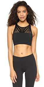 Lace Sports Bra Top                SOLOW