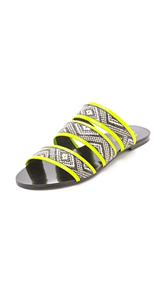 Sol Sana Holly Woven Slide Sandals