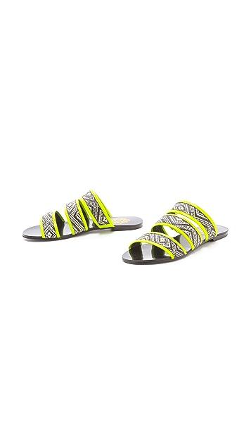 Sol Sana Holly Woven Slide Sandals
