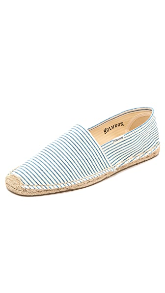 Soludos Runners Stripe Slip On Espadrilles
