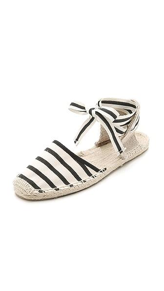Soludos Classic Striped Espadrille Sandals