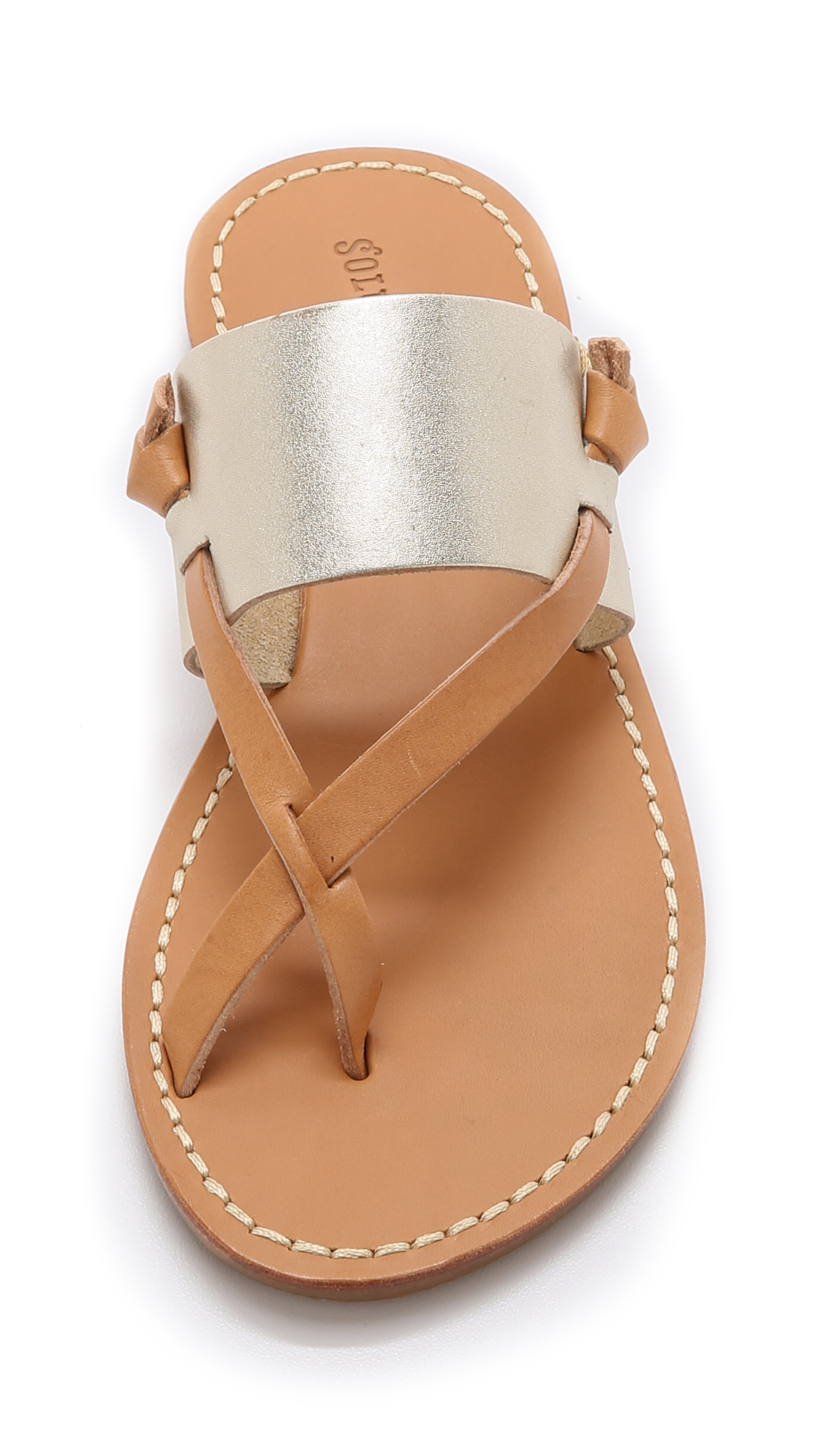 535ff2e9223c Soludos Slotted Thong Sandals