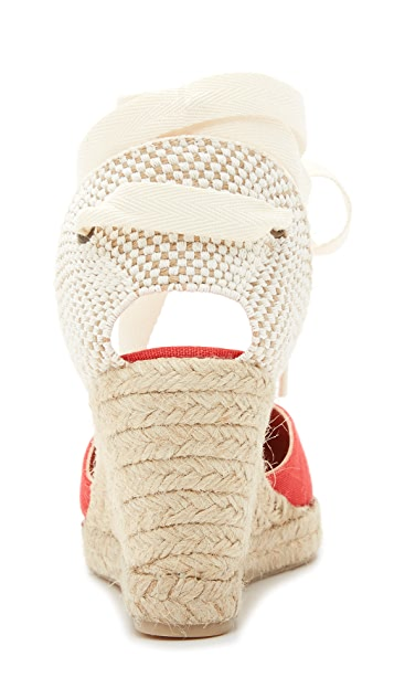 Soludos Tall Wedge Espadrilles