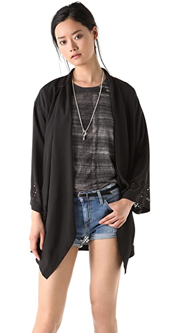 Something Else Laser Lace Jacket