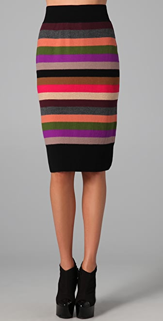 Sonia Rykiel Signature Striped Skirt