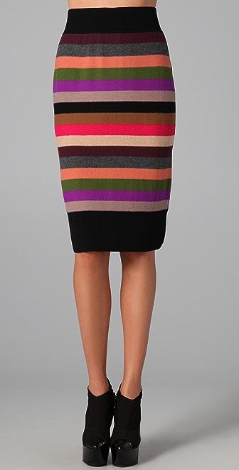 Sonia Rykiel Signature Striped Skirt