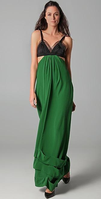 Sonia Rykiel Cutout Gown