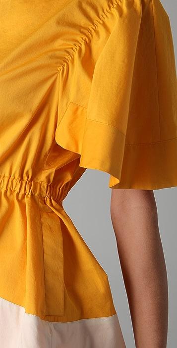 Sonia Rykiel Colorblock Top with Pockets