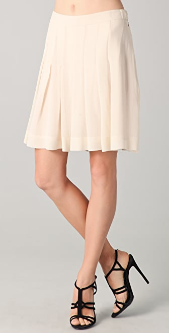 Sonia Rykiel Pleated Chiffon Shorts