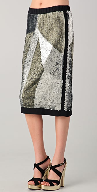 Sonia Rykiel Sequined Skirt