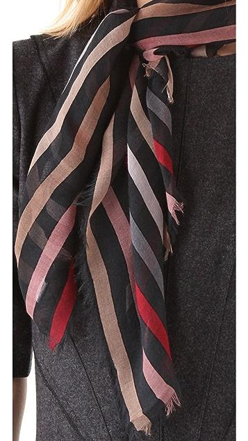 Sonia Rykiel Stripes Printed Scarf