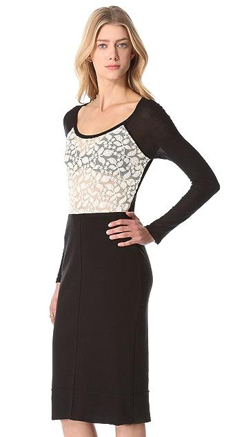 Sonia Rykiel Long Sleeve Dress