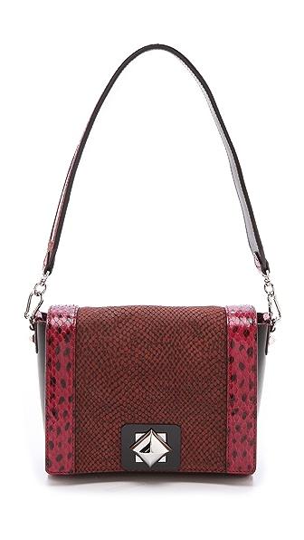 Sonia Rykiel Snakeskin Combo Handbag