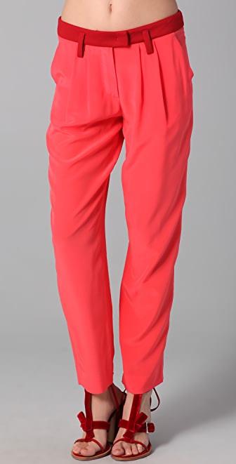 Sonia by Sonia Rykiel Colorblock Pants